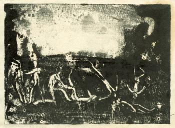 Evening Games (Monotype)