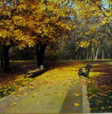 Fyodorov Michail. Maple Avenue (etude)