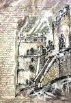 """Картина """"Крепостная восточная башня . Меджибож"""". Павлова Нелли"""