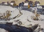 Зима в поселке