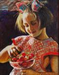 Simonova Olga. strawberry