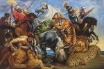 Охота на тигров и львов. копия П.П.Рубенса. Смородинов Руслан