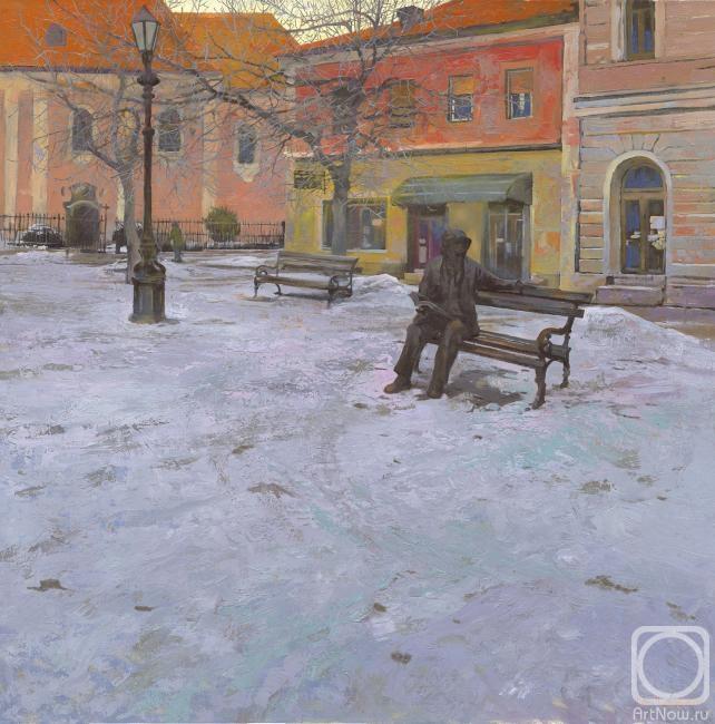 Чернов Денис. Памятник писателю Лаза Костич