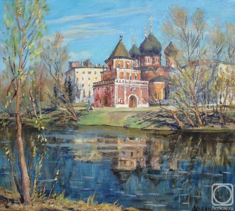 Ковалевский Андрей. Мостовая башня в усадьбе Измайлово