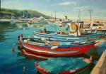 "Картина ""Цветные лодки"". Мартенс Елена"
