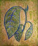 """Картина """"Листок из зеленого царства"""". Разумова Лидия"""