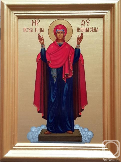 "Markoff Vladimir. Icon ""The Unbreakable Wall"""