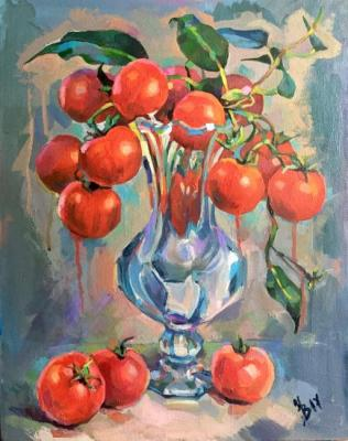 Volvak Inna. Bouquet of tomatoes