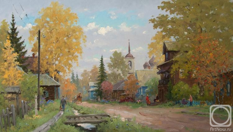 Александровский Александр. Каргопольская улица. Осень