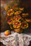 "Картина ""Мамины цветы"". Дорохова Майя"