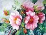 Михальская Екатерина. Ветка дикой розы