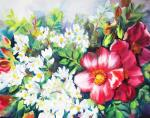 Михальская Екатерина. Жасмин и розы