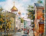 Дорога к Храму,улица Волхонка