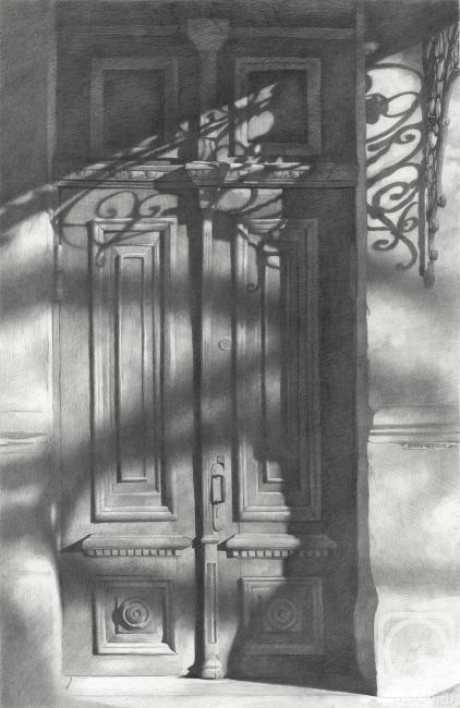 Чернов Денис. Старая деревянная дверь