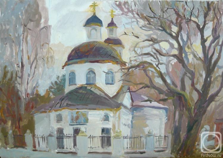Самощенкова Галина. Храм в Белопесоцке