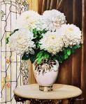 Кабатова Надежда. Белые хризантемы