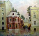 Gerasimov Vladimir. Moscow. Sadovaya-Kudrinskaya street, house 6 (Museum of Anton Chekhov)
