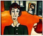 Cherkas Oksana. In a room with an orange floor