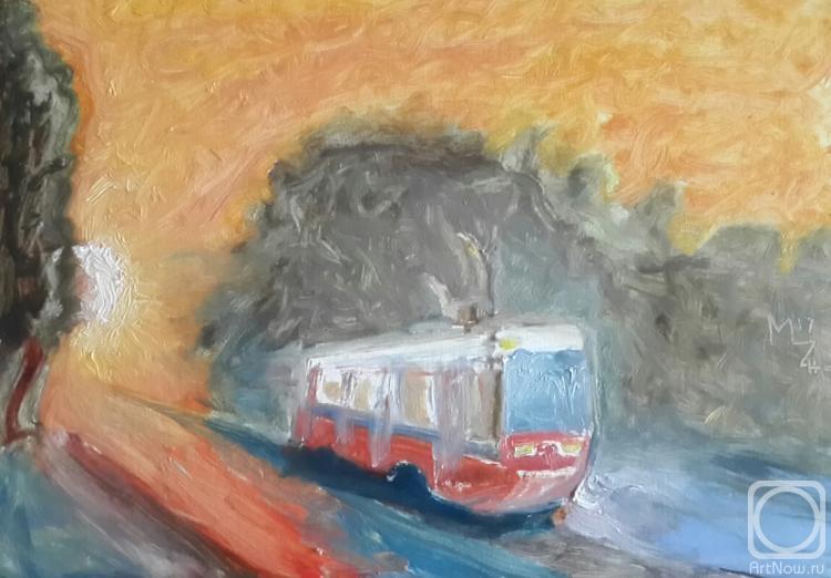 Журавлев Максим. Быстрый трамвай