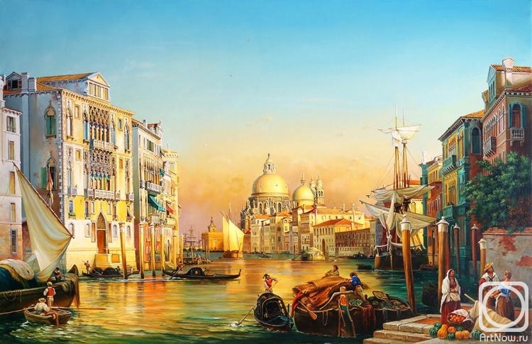 Cherkasov Vladimir. Evening in Venice