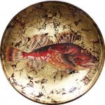 Декоративная тарелка Окунь