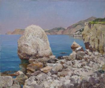 Galimov Azat. Coastal stones. Cape Aya. Crimea