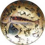 Декоративная тарелка Летучая Рыба