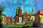 Silaeva Nina. Cathedral and St. Stanislaus in Wawel castle in Krakow
