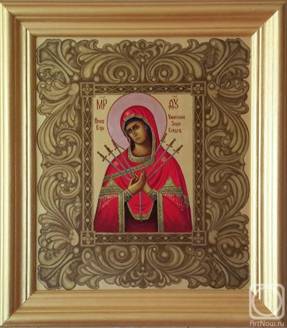 "Markoff Vladimir. Icon ""Softening of Evil Hearts"""