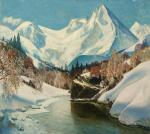"Картина ""Зима в горах"". Мехед Владимир"