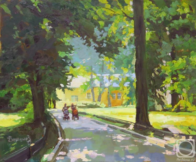 Ведешина Зинаида. Прогулка в старом парке