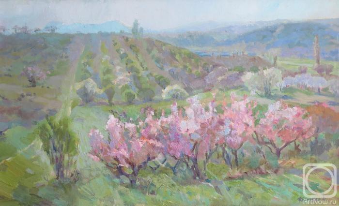Коркишко Виктория. Цветущий сад