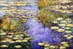 Камский Савелий. Водяные лилии, N21, копия картины Клода Моне