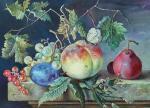 Копия картины. Jan van Huysum. Фрукты.. Кольбина Марина