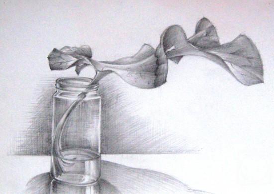 Рисунок художника выполнен в