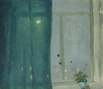 Night outside the window. Mekhed Vladimir