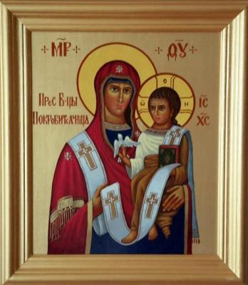 "Markoff Vladimir. Icon of the Blessed Mother of God ""Patroness"""