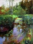 Brook with water lilies. Nekrasov Evgeny