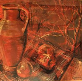 Red still life. Odnolko Natalia