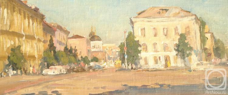 503124cd52a Картина «Тверь. Солнце. Центр» — купить в интернет-магазине ArtNow.ru
