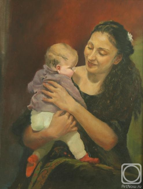 Fattakhov Marat. Joy of motherhood (etude)