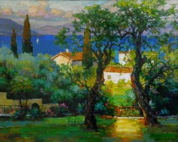 Volkov Sergey. Corfu. Warm evening in September