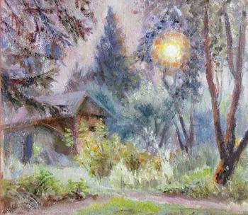Country evening. Malyusova Tatiana