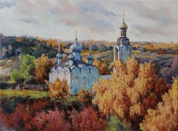 Golovina Natalia. In the gold of autumn
