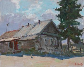 Noon of the old house. Panov Igor