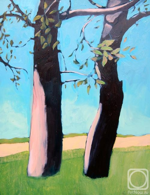 Demidovich Svetlana. Two trees