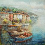 Boat from the Ligurian seafront N2. Vevers Christina