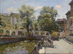 Раскраска по номерам Грифоны Банковского моста 038-AB…