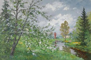 Marino, apple-tree in bloom. Alexandrovsky Alexander