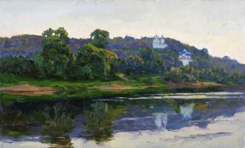 Panteleev Sergey. Evening in Gorokhovets